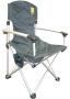 Кресло TRAMP раскладное с уплотненной спинкой и жесткими подлоко